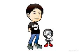 えいいちとa1boキャラクター イラスト